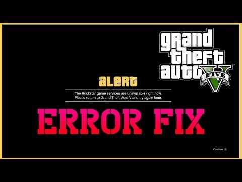 Grand Theft Auto 5 / GTA V all problem error crach fix solved