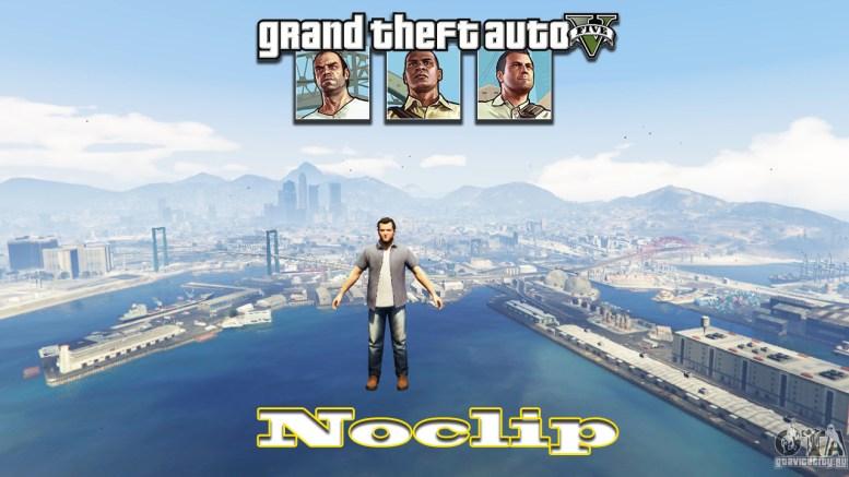GTA 5 Noclip [LUA] for Grand Theft Auto V