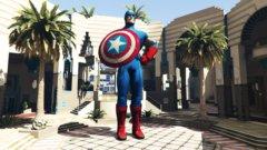 Statue Captain America