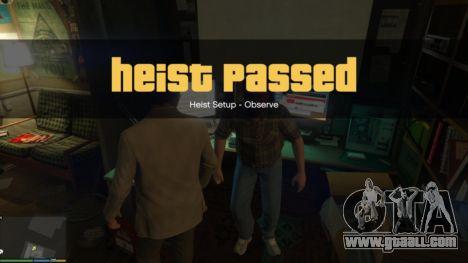 GTA 5 Story Mode Heists [.NET] 1.2.3 ninth screenshot