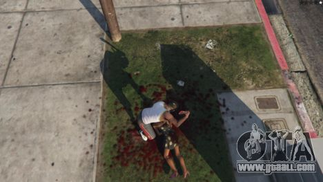 GTA 5 Extreme Blood 0.1 eighth screenshot