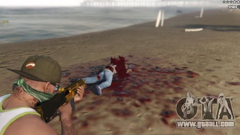 GTA 5 Extreme Blood 0.1 tenth screenshot
