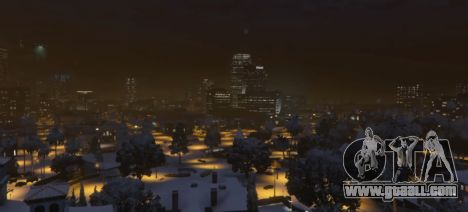 GTA 5 Christmas in Singleplayer (Snow Mod) 1.01 third screenshot