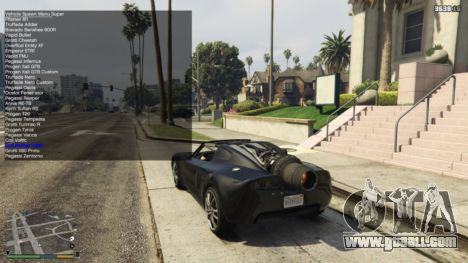 GTA 5 Simple Trainer 4.5 second screenshot