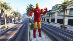 The statue of iron man