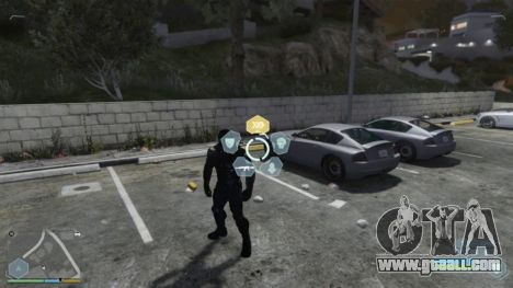 GTA 5 Crysis Script Mod second screenshot