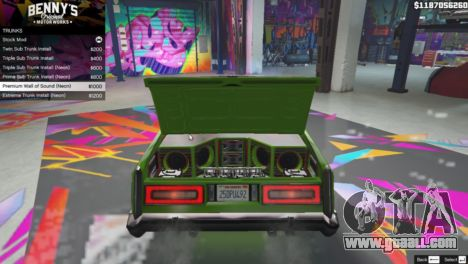 GTA 5 New Bennys Original Motor Works in SP 1.5.4 fourth screenshot
