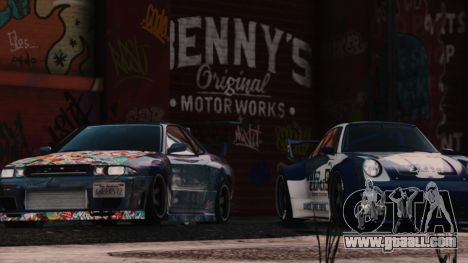 GTA 5 New Bennys Original Motor Works in SP 1.5.4 fifth screenshot