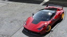 GTA 5 Ferrari 458 Italia Misha Design [ Add-on Livery Template ]