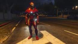 GTA 5 Iron man MK50 MCOC version [Add-on Ped]