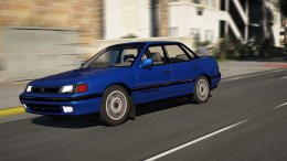 Subaru Legacy RS Series I BC 1990 [Add-On / Replace / Unlock]