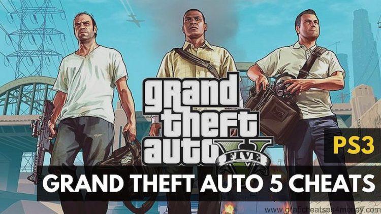GTA 5 Money Cheat PS3