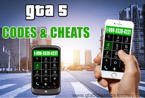 GTA 5 PS4 Cheats Phone