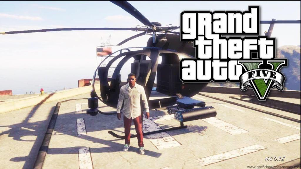 GTA 5 Xbox 360 Cheats Helicopter
