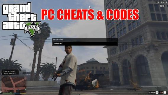 GTA 5 PC Cheats Codes