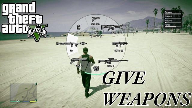 GTA 5 Cheats Xbox One Guns