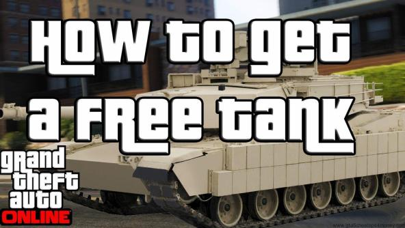 GTA 5 Cheats PS3 Tank