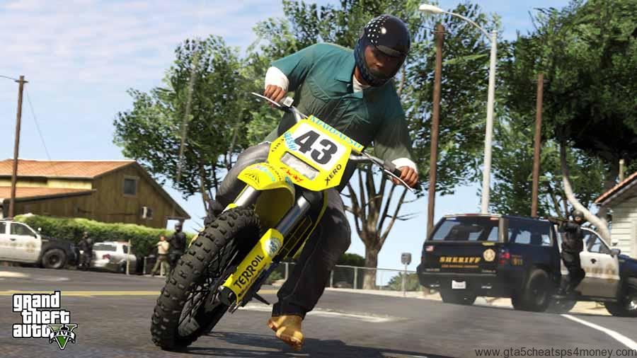 GTA-Cheats-Bike