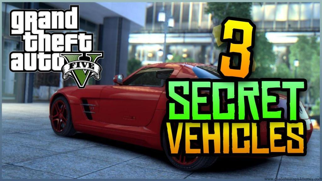 GTA 5 Hidden Cars Xbox