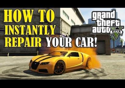 GTA 5 Cheats PC Car Repair