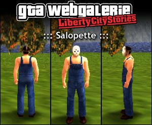 GTA LCS tenue : salopette