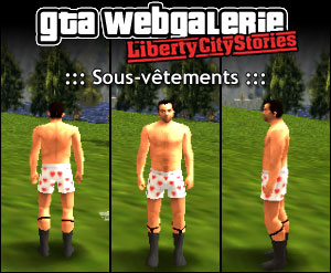 GTA LCS tenue : sous-vêtements