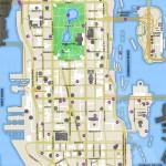Carte des Pigeons et Sauts Unique d'Algonquin - GTA IV
