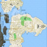 Carte vierge de GTA 4 - Liberty City - Bohan/Dukes/Broker