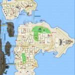 Carte des Armes, Soins, et Armures de Bohan/Dukes/Broker - GTA IV