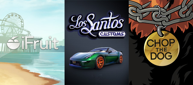 Applications: ifruit - Los Santos Customs - Chop the Dog