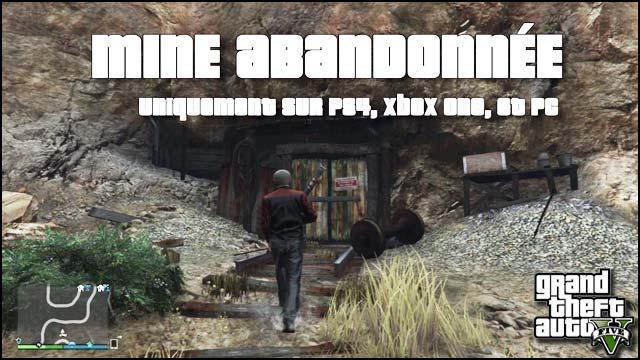 La Mine Abandonnée de GTA V