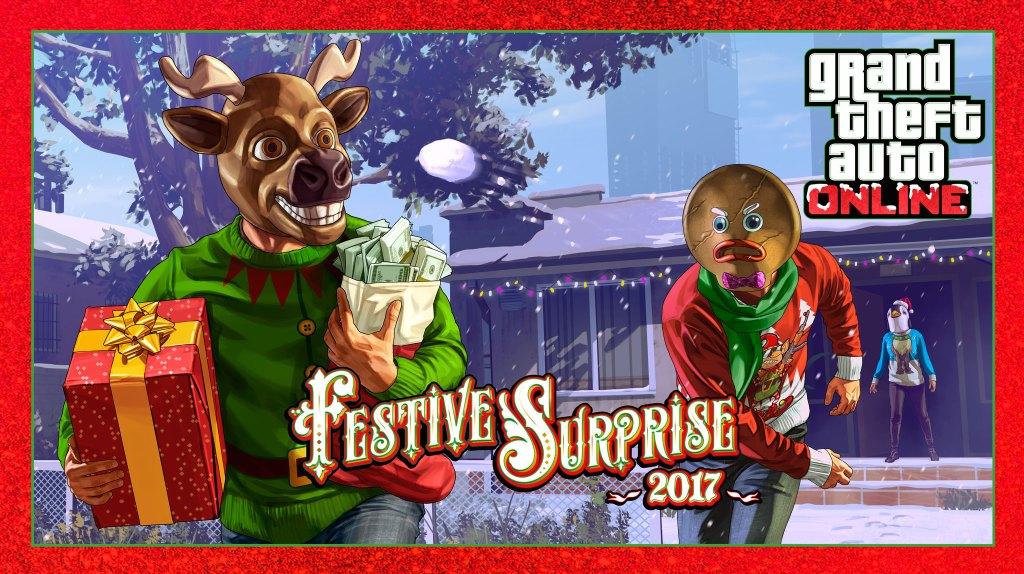 Surprise festive 2017