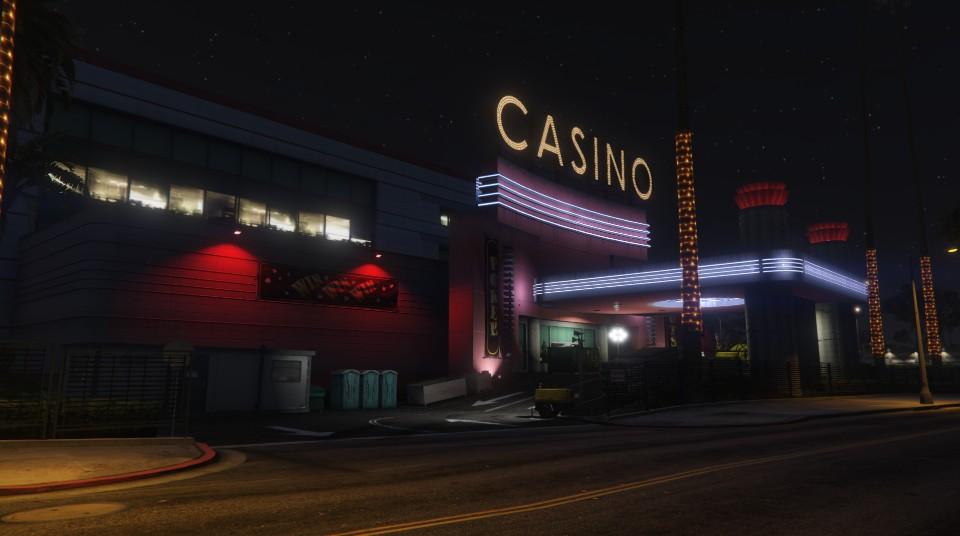 """Travaux à l'entrée du """"Diamond Casino & Hôtel"""" - Semaine 3"""