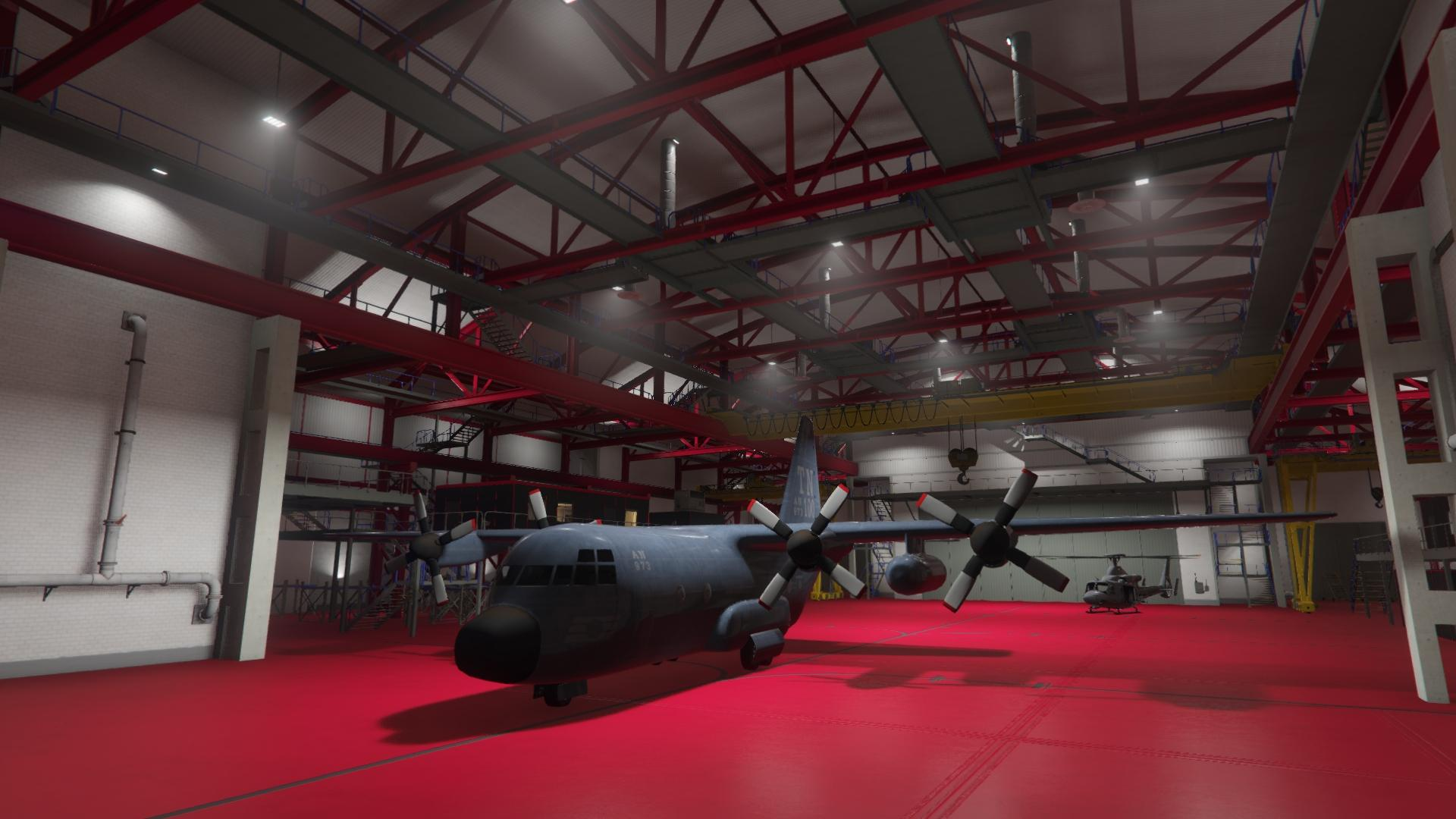 Fort Zancudo Hangar 3497  GTA Online Properties  GTA V