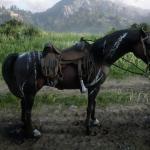 Warped Brindle Arabian Horse Rdr2 Red Dead Online Horses Database Statistics Red Dead Redemption 2
