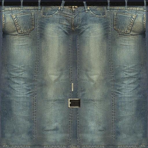 Black Clothing Jean Texture Templates Imvu
