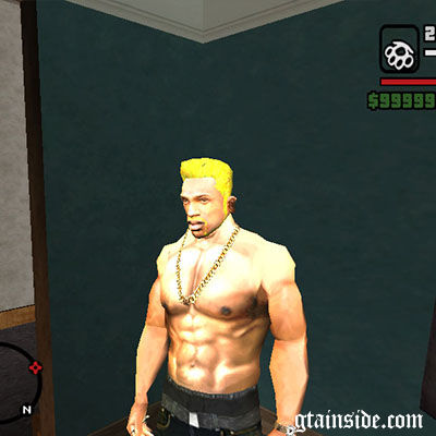 GTA San Andreas WWE Sheamus Hair Style Mod