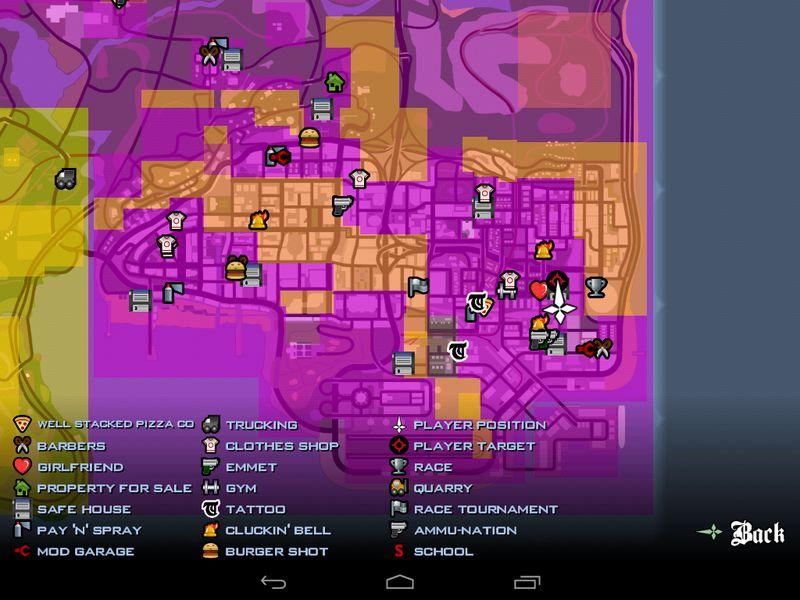 GTA San Andreas Gangwar all San Andreas Location for
