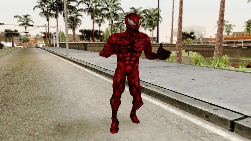 GTA San Andreas Marvel Future Fight - Carnage Mod - GTAinside.com