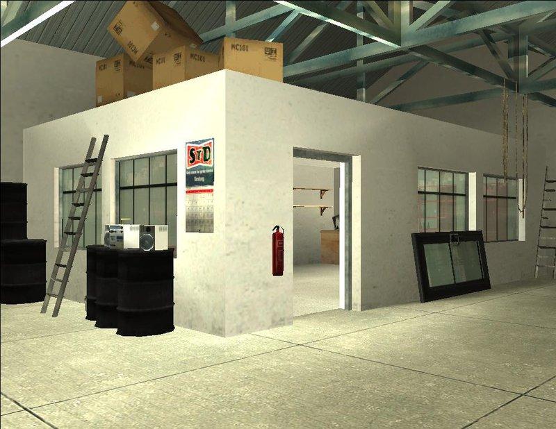 GTA San Andreas New Doherty Garage Mod  GTAinsidecom