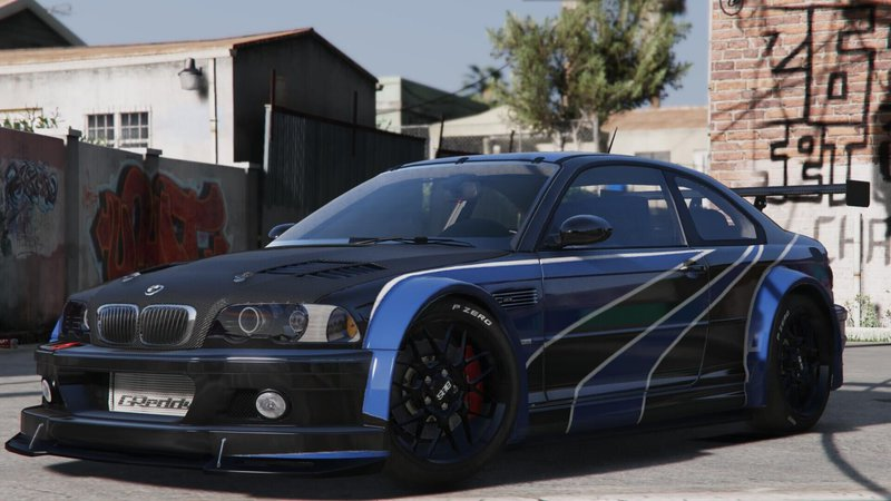 Nfs Most Wanted 2 Cars Wallpapers Gta 5 Bmw M3 E46 Gtr Add On Mod Gtainside Com