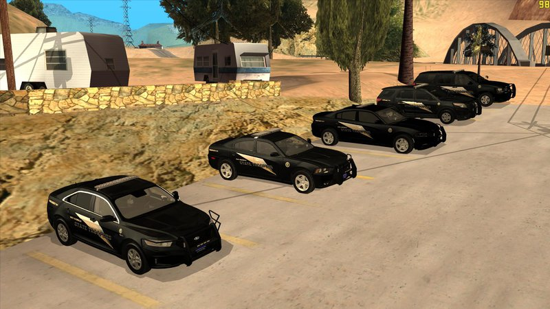 Gta V Car Wallpaper Gta San Andreas San Andreas State Troopers Pack Black