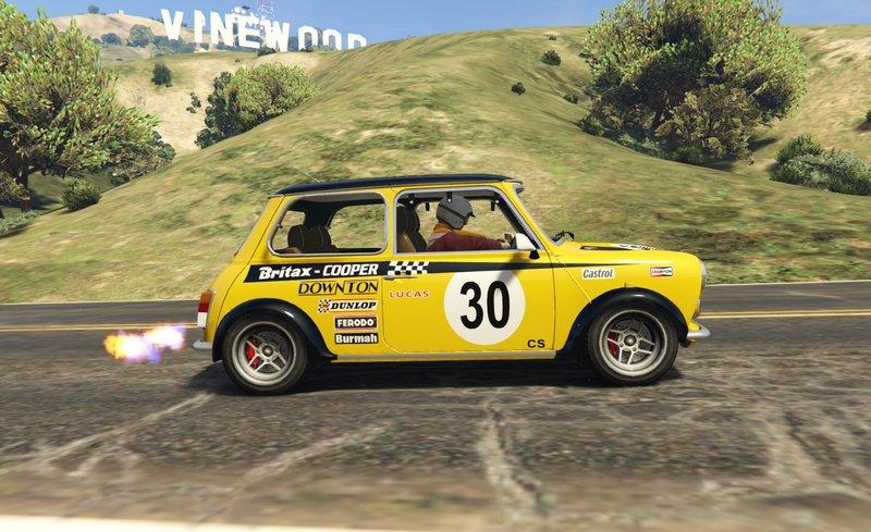 GTA 5 Mini Cooper S Mk2Mk7 Miglia Add On Tuning