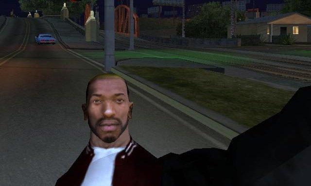 GTA San Andreas CJ New Haircut And Beard Style Mod