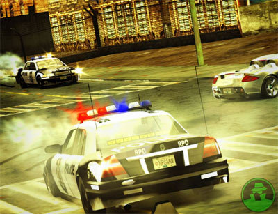 Crown Vic Car Wallpaper Gta San Andreas Nfs Most Wanted 2005 Police Chase Music