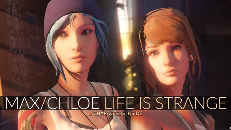 GTA 5 Max Caulfield  Chloe Price Life is Strange AddOn