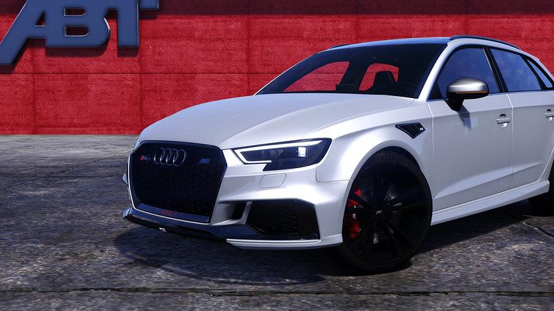 Audi Rs3 Wallpaper Hd Gta 5 Audi Rs3 Sportback 2018 Add On Tuning Abt Mod