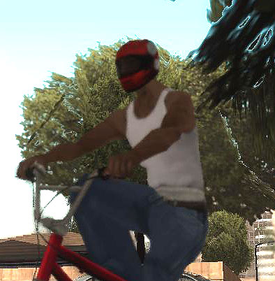 red helmet GTA San Andreas Büyük YAMA ARŞİVİ !