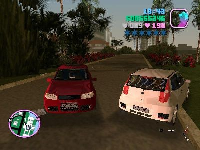 Gta Vice City Fiat Punto Araba Yaması