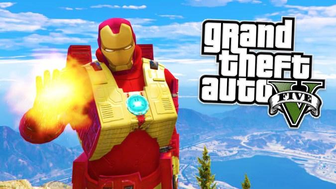 GTAV – Ironman Mod + Armor Mark III – GTA Junkies
